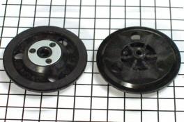 Насадка для CD, DVD на двигатель 5,9V  RF-300…  без защелок и шариков